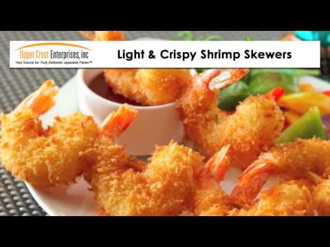 Light & Crispy Shrimp Skewers