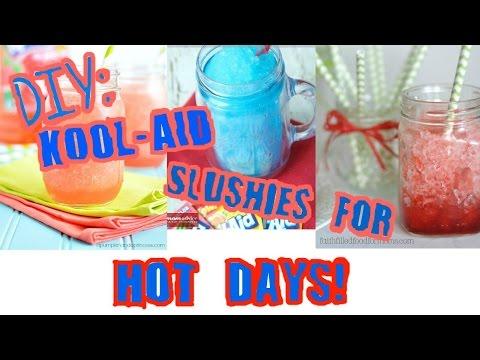DIY: Kool-aid Slushies For Summer!
