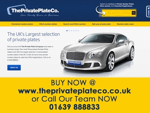 private number plates UK