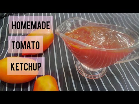 Tomato Ketchup Recipe in Urdu~How to make Tomato Ketchup at Home in Urdu~Tomato Ketchup Ki Recipe