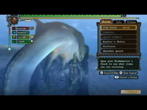 【MH3】 Monster Hunter 3 Tri - Online Quest #6 - [Event] Mercy Mission