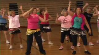Zumba Waka Waka Dance for 1GOAL - Maggie Barclay and Inside Out Fitness Students
