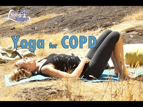 How can yoga help with COPD