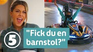 Wahlgrens värld | Bianca Ingrosso blir barn på nytt när hon praktiserar på lekland