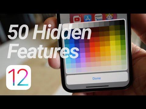 50 More iOS 12 Hidden Features & Changes!