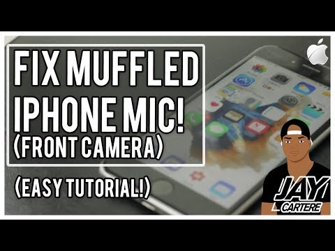 How To Fix An iPhone Muffled Mic (Front Camera) - How To Fix A Muffled iPhone Mic