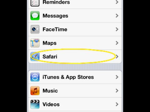 HOW TO Fix SAFARI Crash / Start problem on iPhone / iPad / iPod EASY & FAST