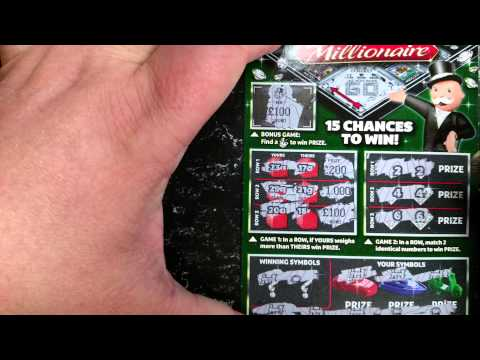 Live £5k win on £5 lotto monopoly scratch card (sorry for excitement) 😜😝😛😝😜