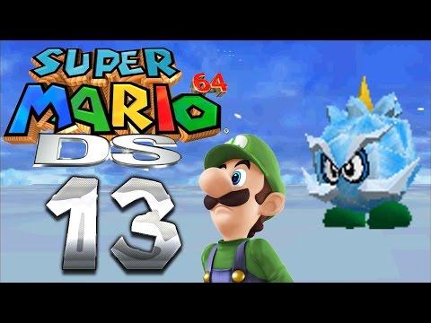 Let's Play SUPER MARIO 64 DS Part 13: Chief Chillys Frostbart & Warios Gefängnisschlüssel