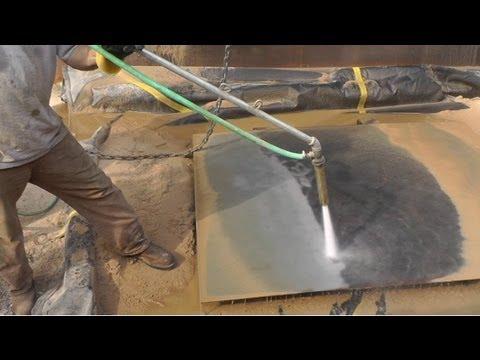 BIG DIY SandBlaster Mods - Hydro Sandblaster & Work Safety