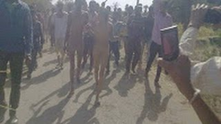 Man, woman thrashed, paraded naked by villagers in Rajasthan