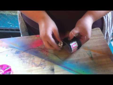Scraps & Sparkles DIY Bracelet with the Tulip® Girls!