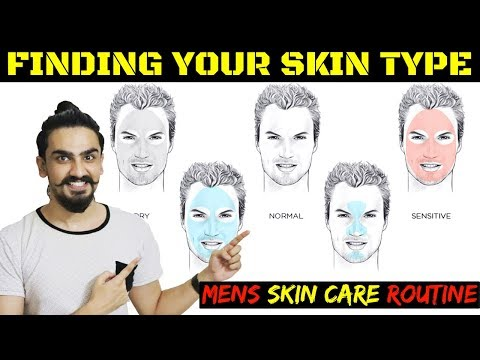 Know Your Skin Type | Skin Care Routine for Indian Men in Hindi | Men's Skin Care