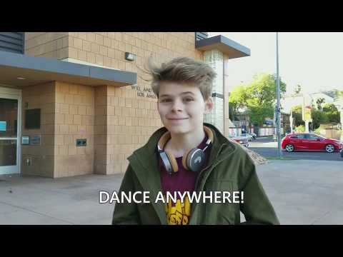 Dance Anywhere!  Loud Dubstep Freestyle...at the Library!