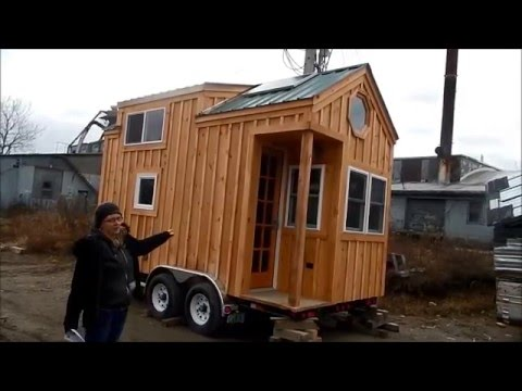 8x16 Tiny House on Wheels Tour