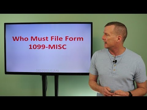 2 Min Tax Take - Who Must File 1099-MISC?