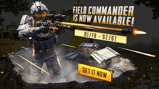 New Lucky Spin AWM Field Commander Upgraded To Max Level   40.000 UC 🔥 - PUBG Mobile