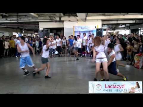 Lactacyd White Intimate Flash Mob at MRT Araneta Center Cubao