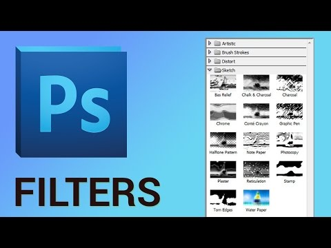 How to Use Photoshop Filter Gallery