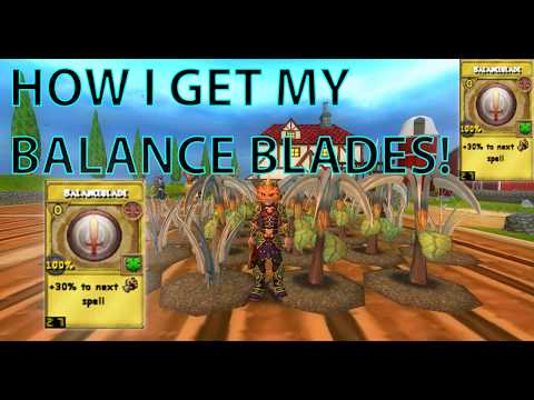Wizard101 How I get my Balance Blade TC's (Honey Sickle Garden)
