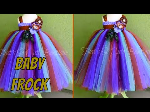 Baby dress cutting and stitching