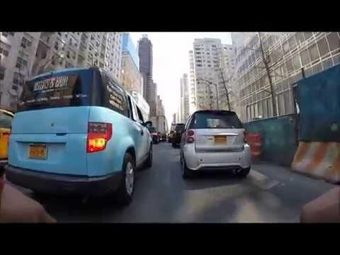 nyc messenger morning traffic