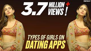MensXP: Types Of Girls On Dating Apps Ft. Sara Ali Khan