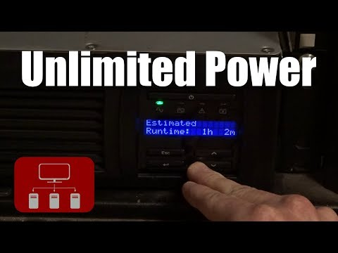 Unlimited Power - Adding an Uninterruptible Power Supply to the Homelab