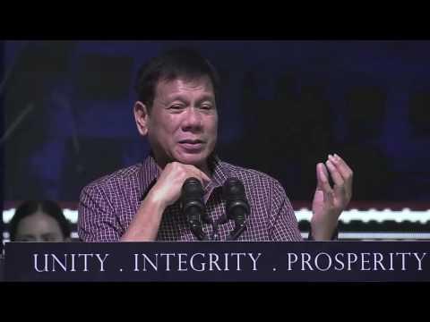 Duterte: Death penalty is for retribution