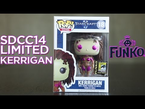 Kerrigan SDCC 2014 Exclusive Funko Pop!