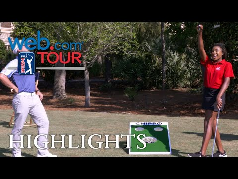 Short-game challenge: Web.com Tour alumni vs. The First Tee junior golfers