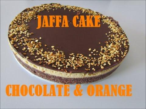 JAFFA CAKE - CHOCOLATE & ORANGE (vegan, gluten free)