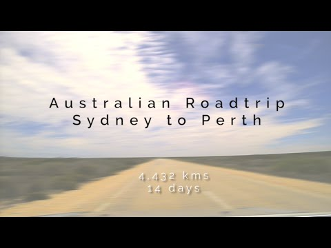 Drive across Australia in 7 minutes