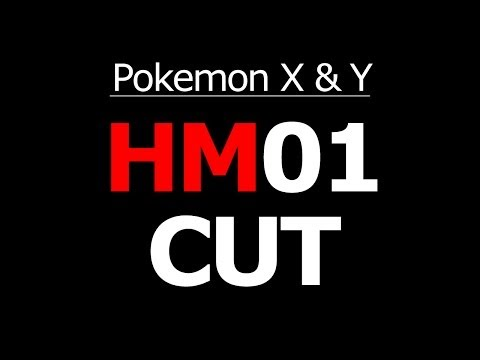 Pokemon X and Y Where to get HM01 Cut