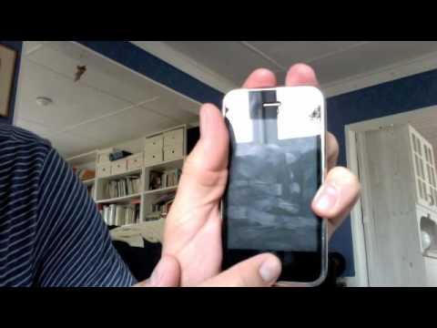 iPhone 3G white screen failure