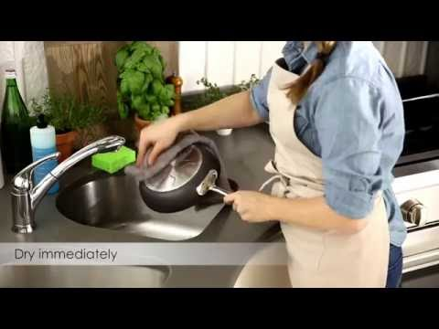 All-Clad: How to Clean Nonstick Hard Anodized Cookware