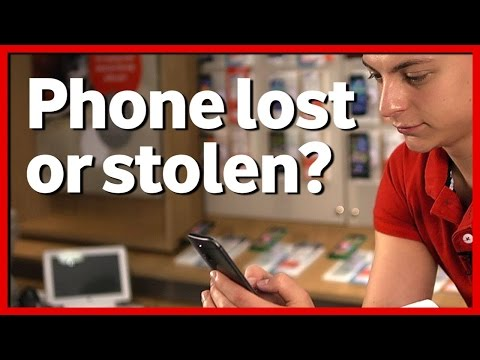 What to do if your Vodafone phone is lost or stolen