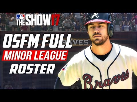 MLB THE SHOW 17: How to Download the OSFM Rosters (Full Minor League Roster)