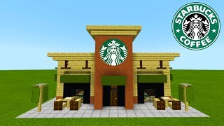 Download Minecraft Tutorial: How To Make A Starbucks ″2019 City Tutorial″ Video