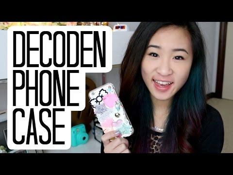 Tumblr Transparent Inspired Decoden Phone Case | TutorialsByA
