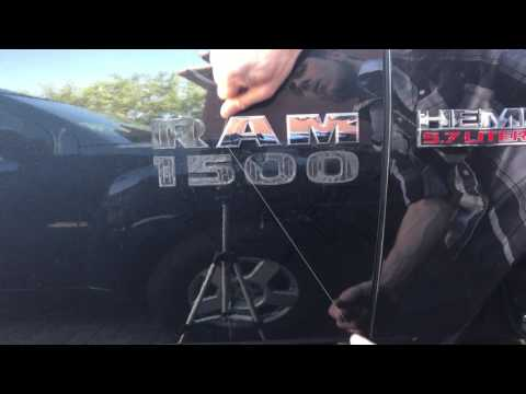 How to remove badges and or emblems without a heat gun