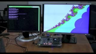 FPGA Mandelbrot Rendering Engine
