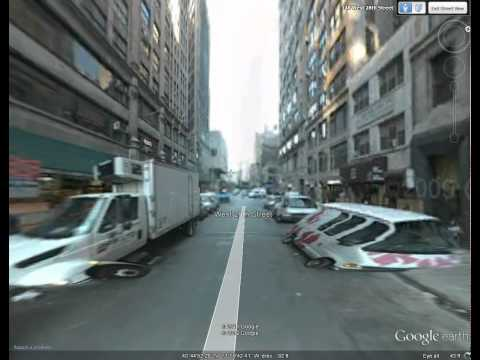 Google Earth: Using Street View