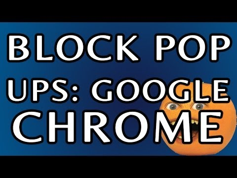 How To Block Pop Ups In Google Chrome