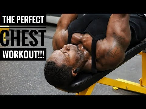 The Perfect Chest Workout For Building Muscle & Strength!
