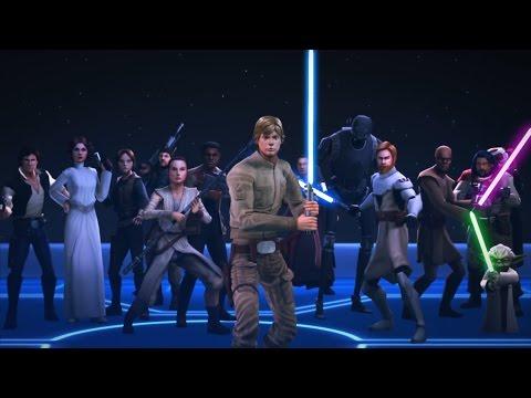 Star Wars: Galaxy Of Heroes - JEDI LUKE?!