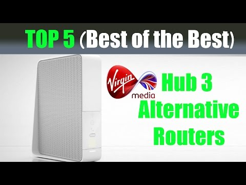 Top 5 Alternative Cable Routers (Best of the Best) - Suitable Replacement for Virgin Media Hub 3