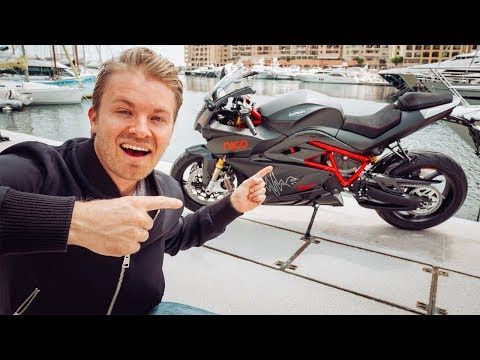 RACING MY ELECTRIC ENERGICA MISSILE ON F1 MONACO GP TRACK | NICO ROSBERG | eVLOG