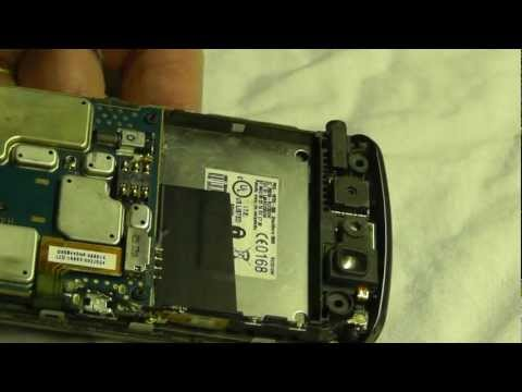 Blackberry Storm 9500 9530 screen digitizer replacement complete instructions