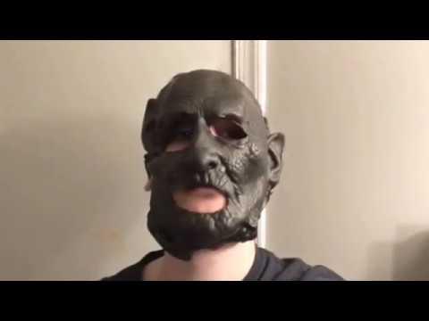 My Homemade Custom Leatherface Mask